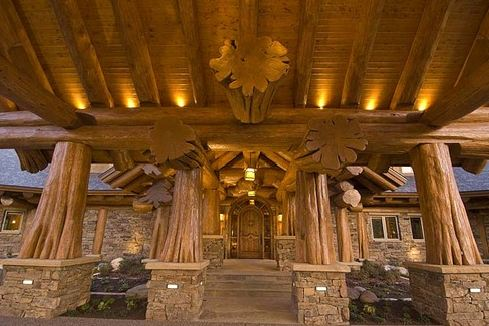 pioneers log homes of british columbia